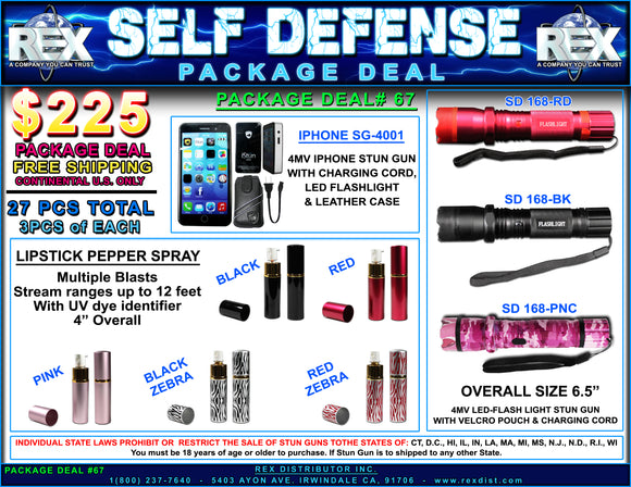 Package Deal #67 - Self Defense Package Deal