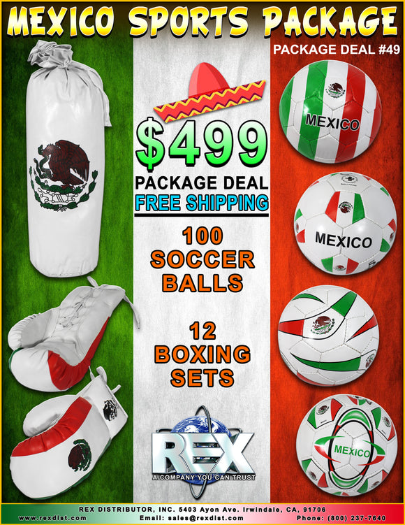 Package Deal #49 - Mexico Sports