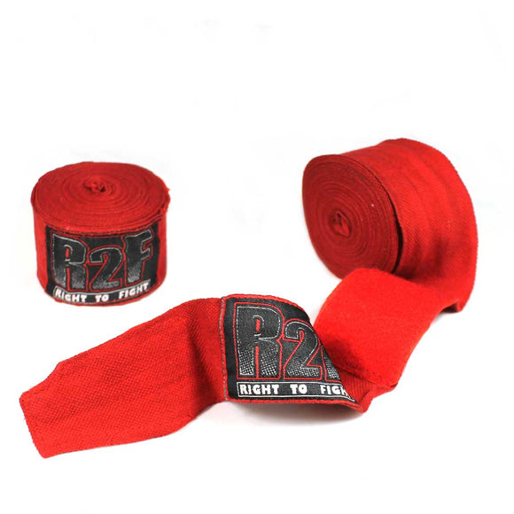 R2F 398-RD Boxing/MMA Hand Wraps