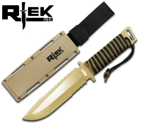 RT 4485-I Combat Knife with Cord Wrap Handle