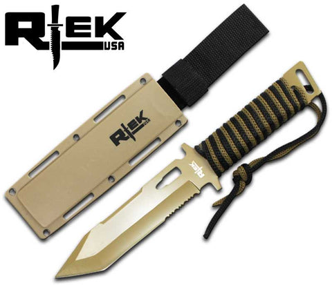 RT 4485-F Combat Knife with Cord Wrap Handle