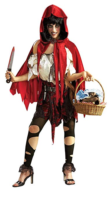 Womens Rubie's Costume Deluxe Little Dead Riding Hood Halloween Costume