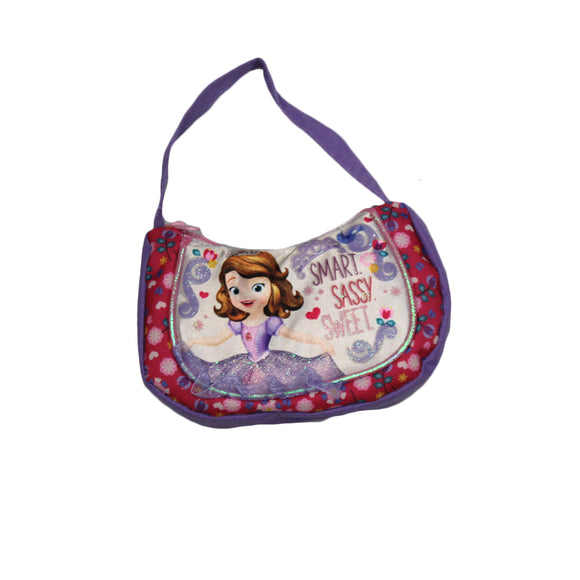 Disney Little Girls Sofia Smart and Sassy Shoulder Bag