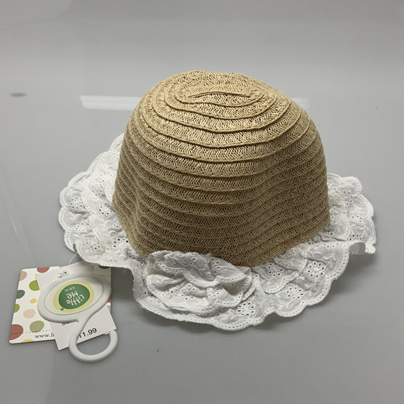 Little Me Woven Sun Hat Baby Toddler
