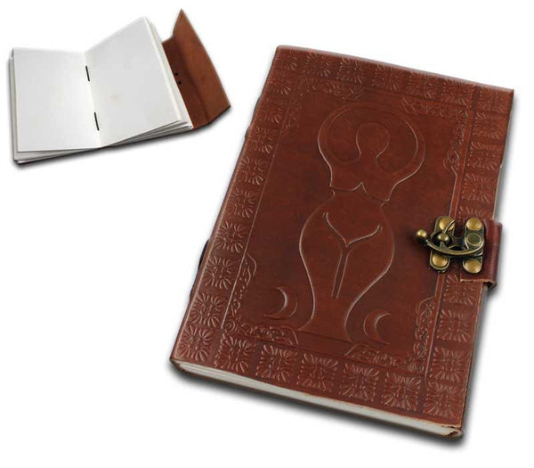 "SE 7024 7""x5"" medieval leather journal"