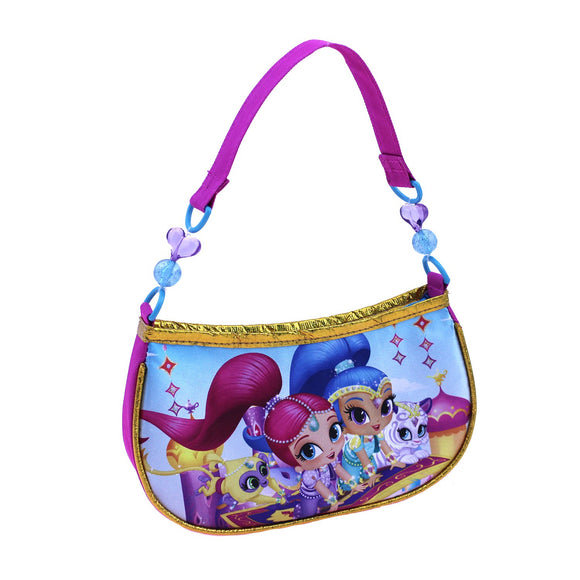 Girls' Shimmer and Shine Beaded Shoulder Bag Pink