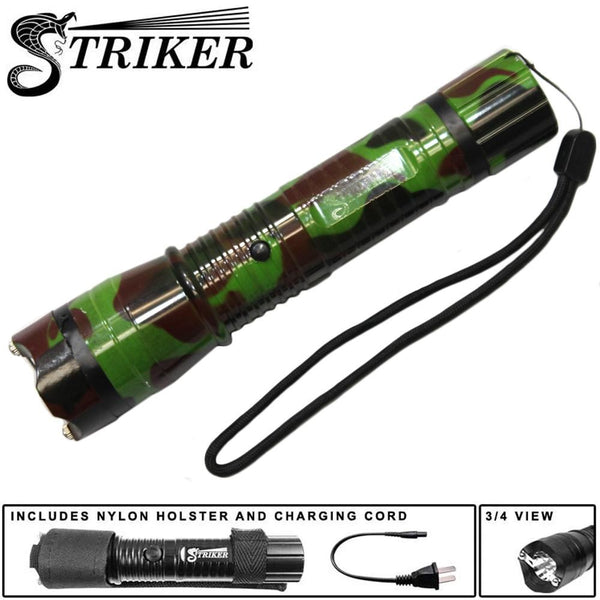 ST 1101-CM Camouflage 4 MKV LED-Flash Light Stun Gun