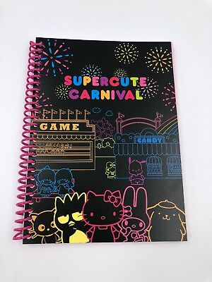 Hello Kitty Sanrio Loot Crate Supercute Carnival Notebook