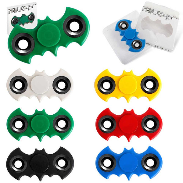 Bat Shaped Fidget Spinners Spinner Wholesale Mixed Colors Distributor USA