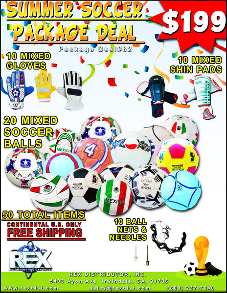 Package Deal # 82 Summer Soccer Mixed Package Deal