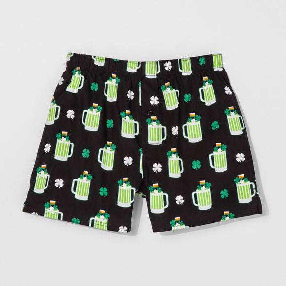 Men's Beer Mugs All Over Print Boxer Briefs