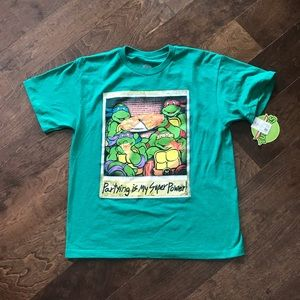 Boys Toddler TMNT Partying Is My Super Power T-Shirt Tee