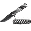"T 271406-BK  4.25"" Black Hearts Assist-Open Folding Knife"