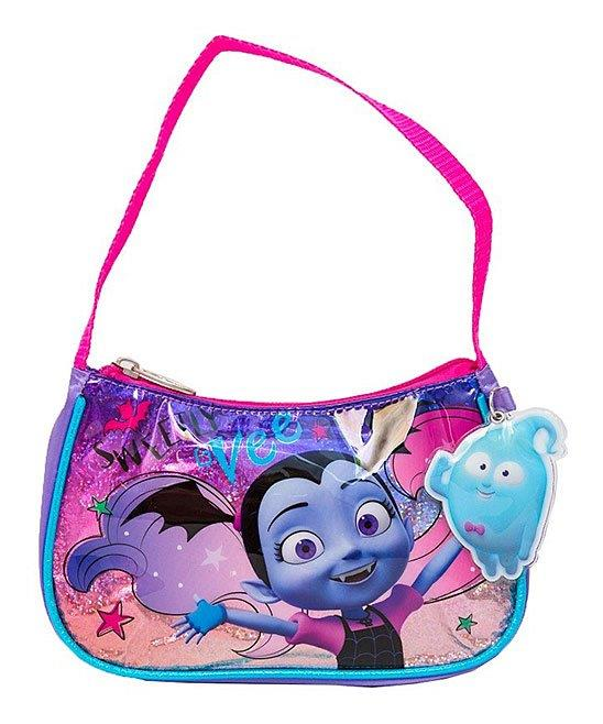 Disney Girls' Vampirina Handbag Shoulder Bag with Dangle