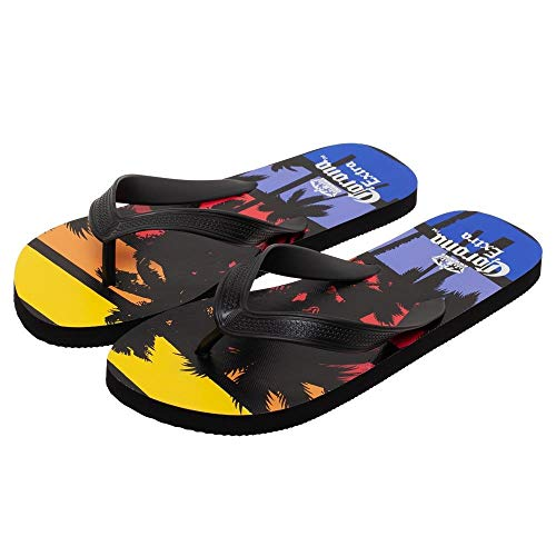 Corona Extra Palm Trees Sunset  Flip Flops Sandal