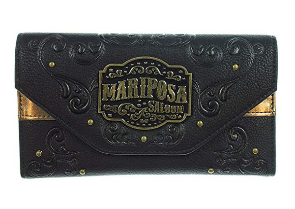 Westworld Black Mariposa Saloon Women's Wallet  HBO's West World