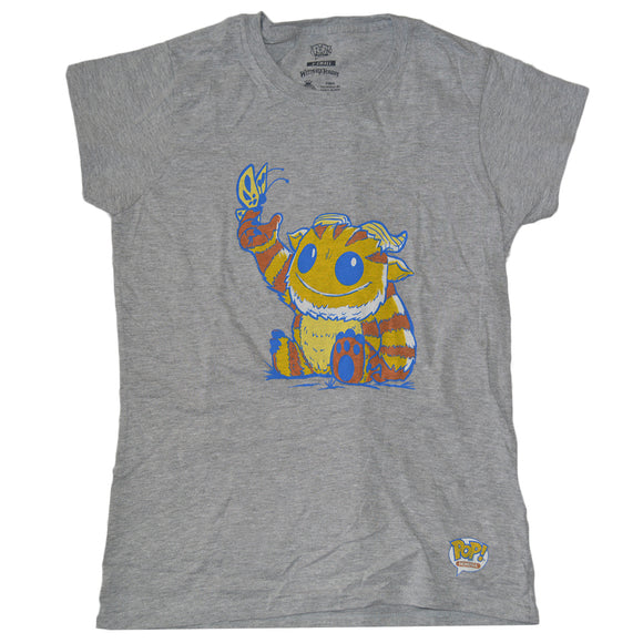 Womens Juniors Pop Tee Wetmore Forest Monster Graphic Tee T-Shirt