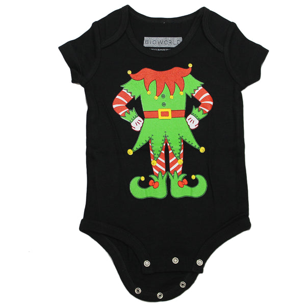 Newborn Baby One-Piece Elf Holiday Suit
