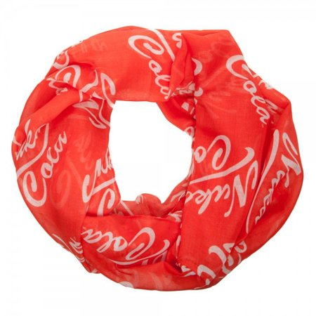 Red Fallout Nuka Cola Bethesda Infinity Viscose Scarf Video Game