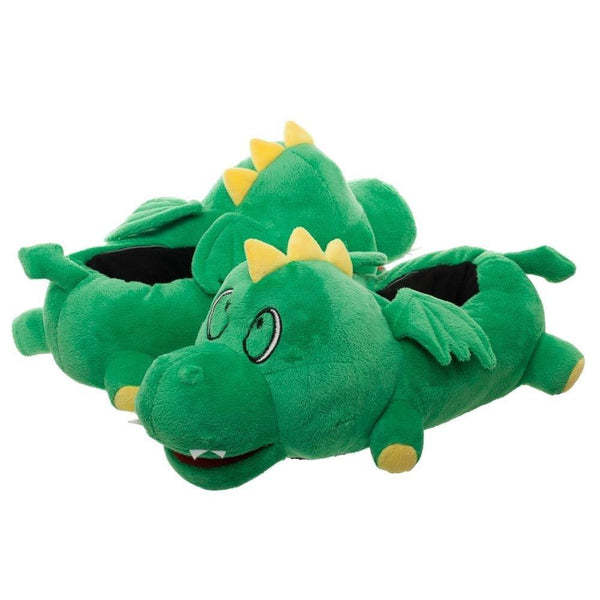 Green Light Up Dragon Wings Slippers LED Lights