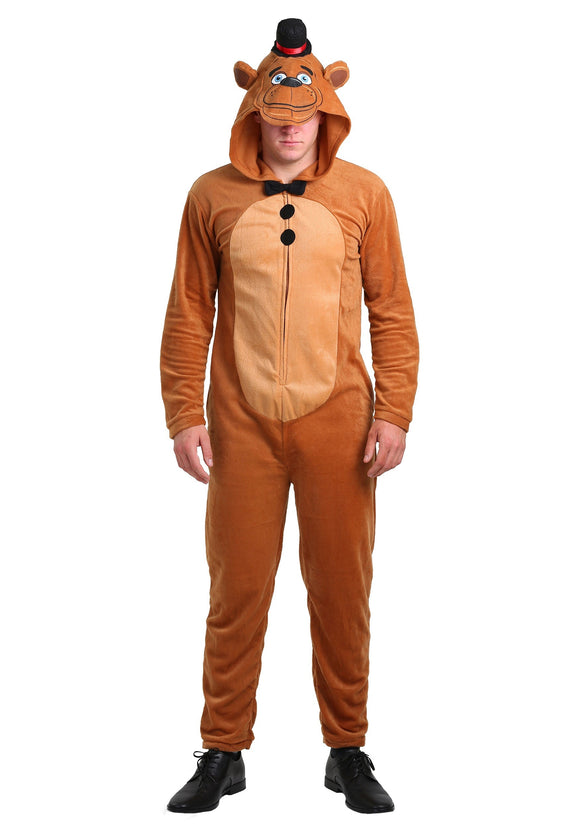 Mens Five Nights At Freddy's: Men Freddy Fazbear Costume Video Game