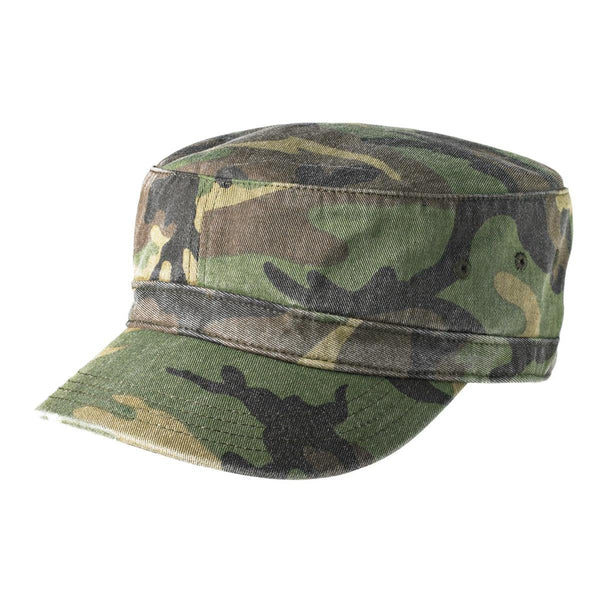 Adult Free Authority Military Camo Cadet Hat Cap