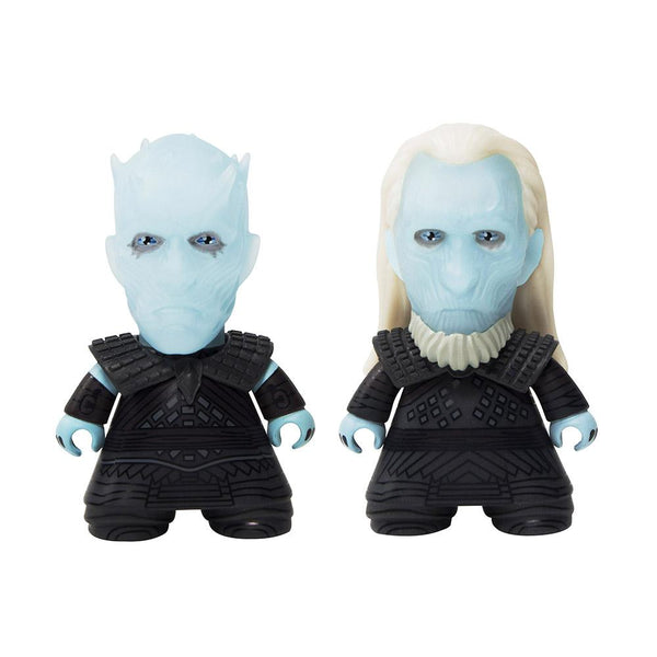 "3"" Game Of Thrones TITANS: 3"" Twin Pack Night King and White Walker Toy"