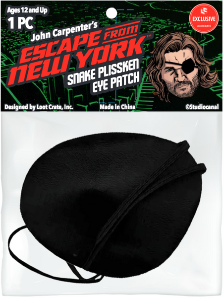 Loot Crate Exclusive Escape of New York Snake Eye Patch Cosplay