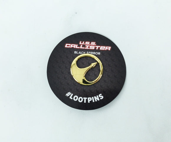 Black Mirror U.S.S. Callister Pin Loot Crate Exclusive