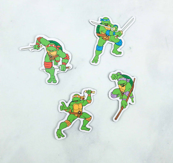 Loot Crate Teenage Mutant Ninja Turtles Magnet Set
