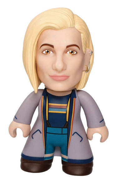 "Doctor Who TITANS: 6.5"" 13th Doctor TITAN - Blue Long Coat Toy"
