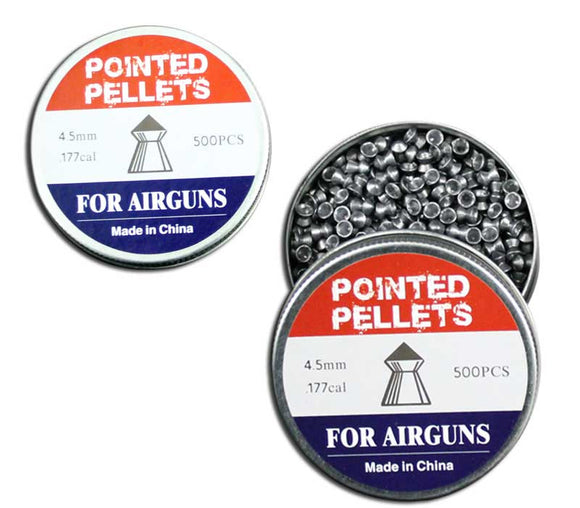Pellets Pointed 4.5mm
