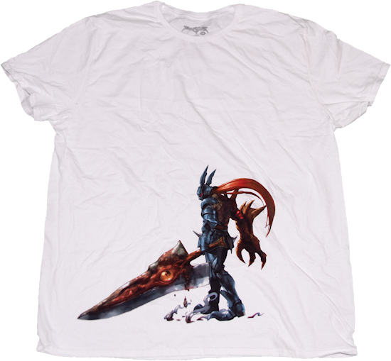 Women's White Soul Calibur Nightmare T-Shirt Tee Loot Crate