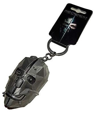 Dishonored 2 3d Metal Keychain Video Game bethesda
