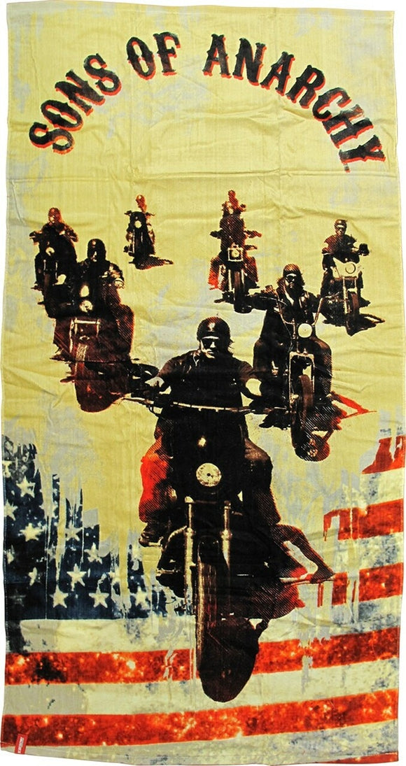 Sons of Anarchy Bikes Towel 60x30
