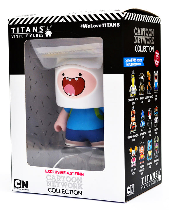 Adventure Time Cartoon Network TITANS: 4.5