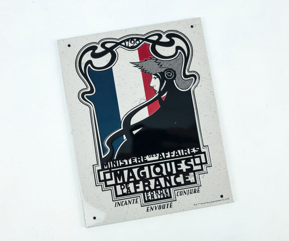 Fantastic Beasts: The Crimes of Grindelwald French Ministry Tin Sign