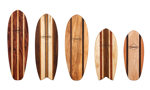 Longboard Cutting & Serving Platters 24