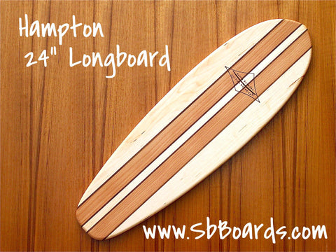 "Hampton 24"" Longboard Cutting Board & Serving Platter"