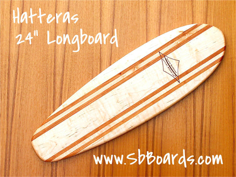 "Hatteras 24"" Longboard Cutting Board & Serving Platter"
