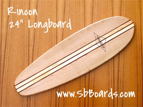 "Rincon 24"" Longboard Cutting Board & Serving Platter"