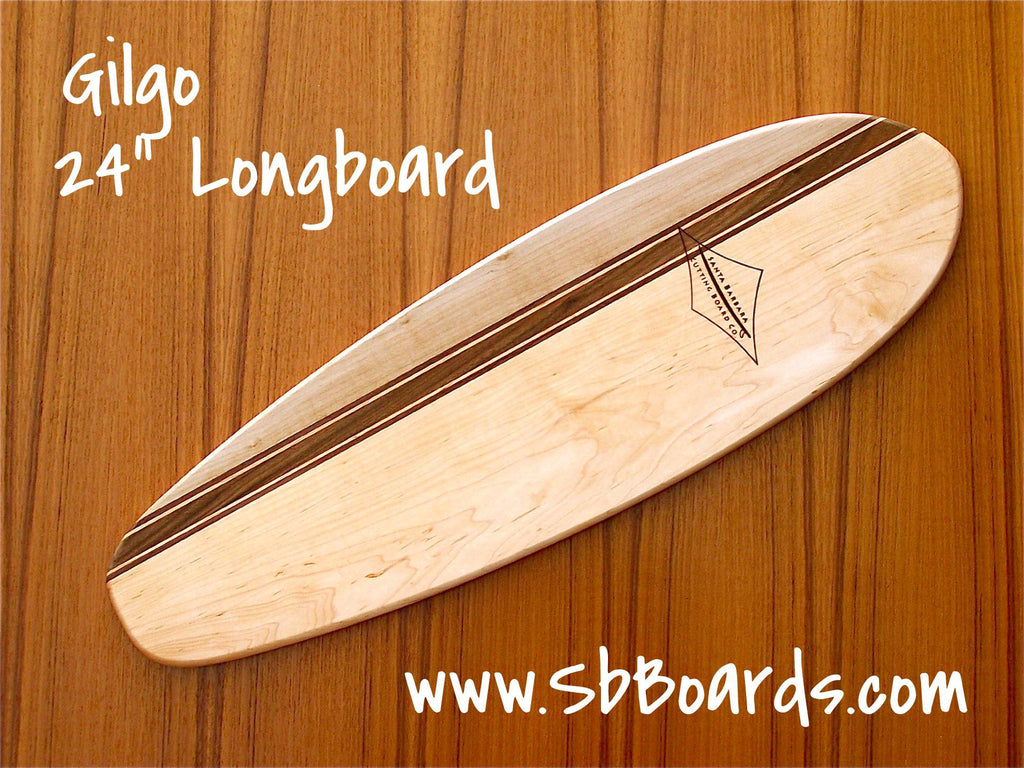 "Gilgo 24"" Longboard Cutting Board & Serving Platter"