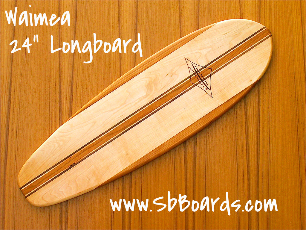 "Waimea 24"" Longboard Cutting Board & Serving Platter"