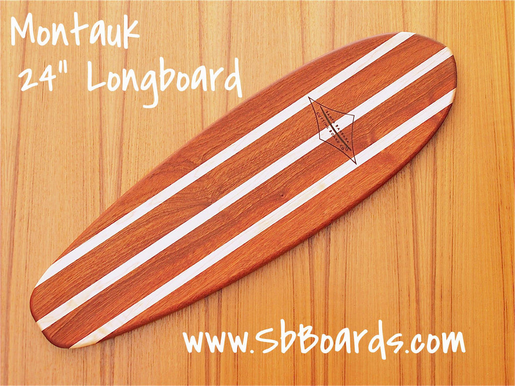 "Montauk 24"" Longboard Cutting Board & Serving Platter"