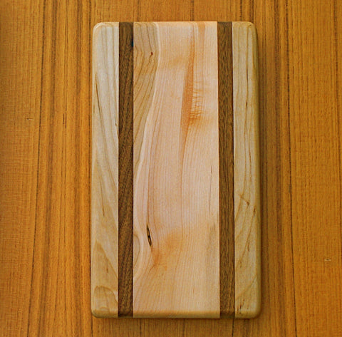 "The Pier Cutting Board - Honolua Pattern - (approx. 6"" x 10"")"