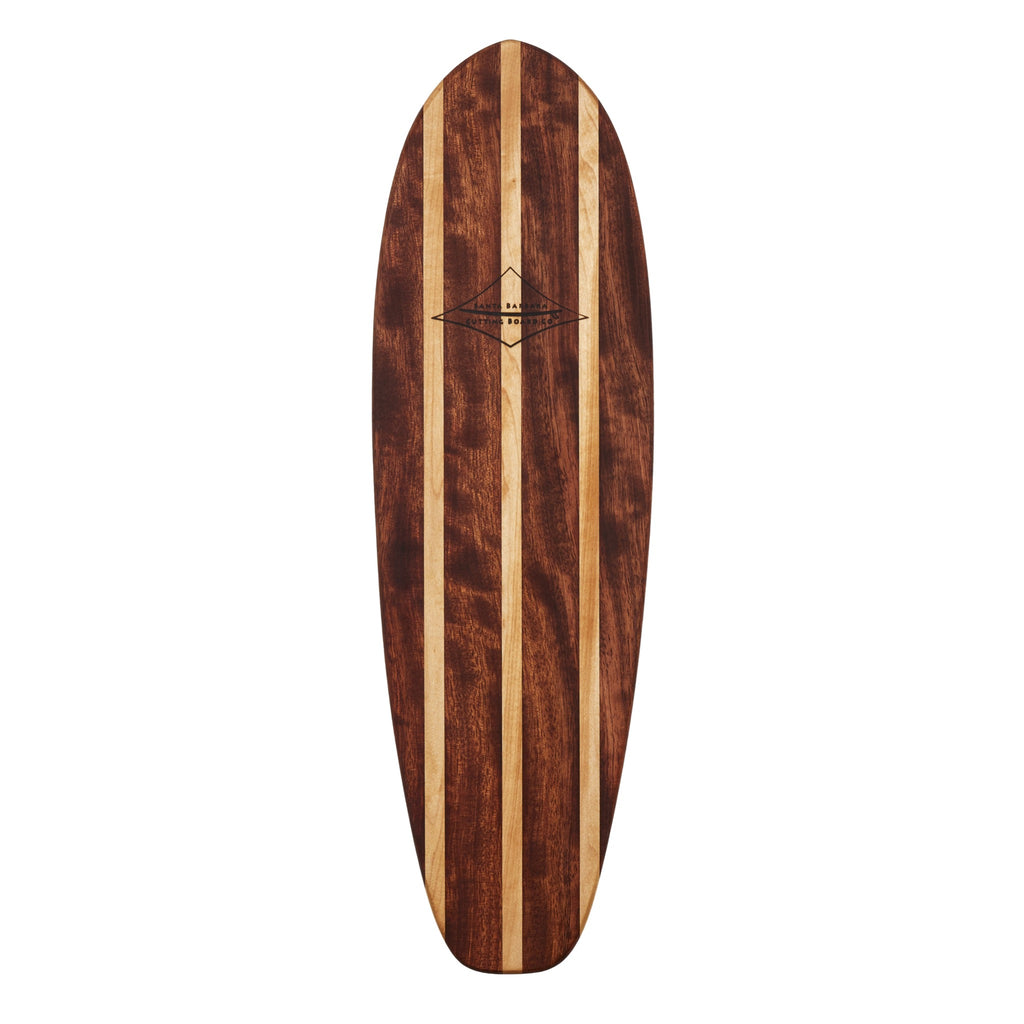 "24"" Longboard SURVBOARD - Large Charcuterie Serving Board and Cheese Platter"