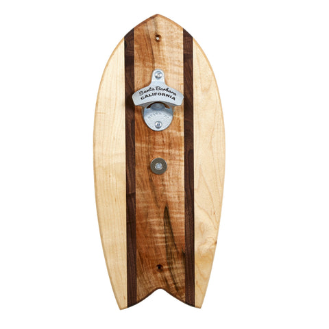 Party Wave Surfboard Bottle Opener - Wall Mountable