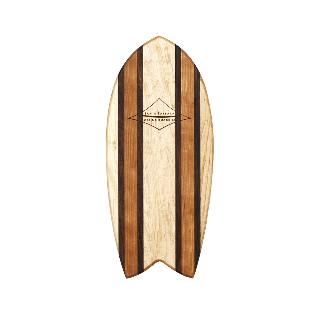 "16"" small Fish SURVBOARD Cheese Platter, Serving Board, Cutting Board...Basically Awesome Everything Board!"