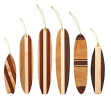 Hang Ten Surfboard Ornaments