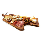 "LIMITED EDITION: ""Beauty From the Ashes"" Extra Large Charcuterie Olive Board #11 (Size: 7"" x 32"")"